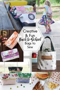 These Creative and Fun Back to School Bags to Sew are just what you need to get ready for school!
