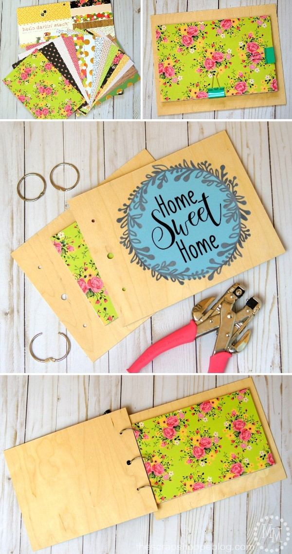 Diy Scrapbook Album Cover The Scrap Shoppe