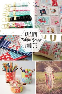 These projects are great stash busters for your excess fabric!
