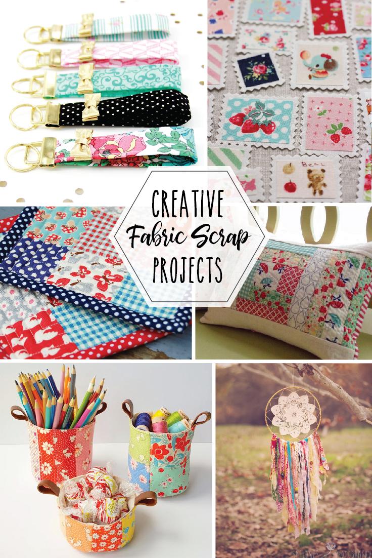 Creative Fabric Scrap Project Ideas The Scrap Shoppe
