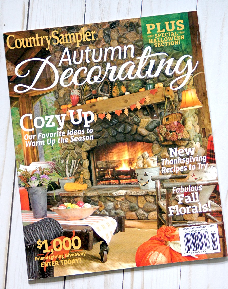 Country Sampler Magazine Feature - The Scrap Shoppe