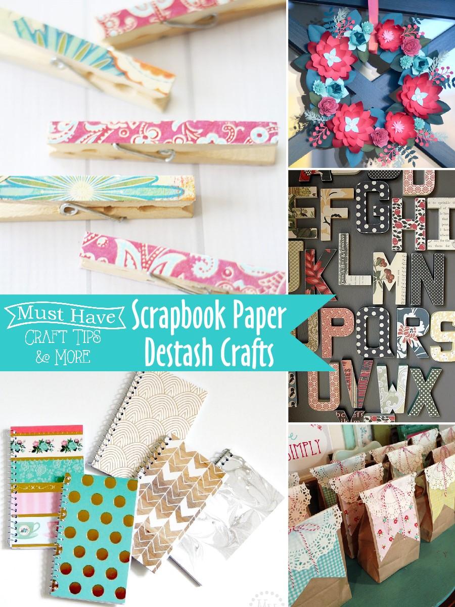Scrapbook Paper Destash Crafts The Scrap Shoppe