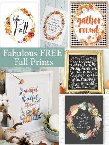 Fabulous FREE Fall Prints