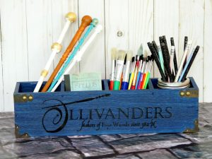 Ideas to include Ollivander's Wand Shop in your next Harry Potter party!
