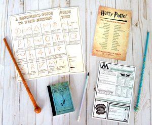 Harry Potter Wand Shop & FREE PRINTABLE