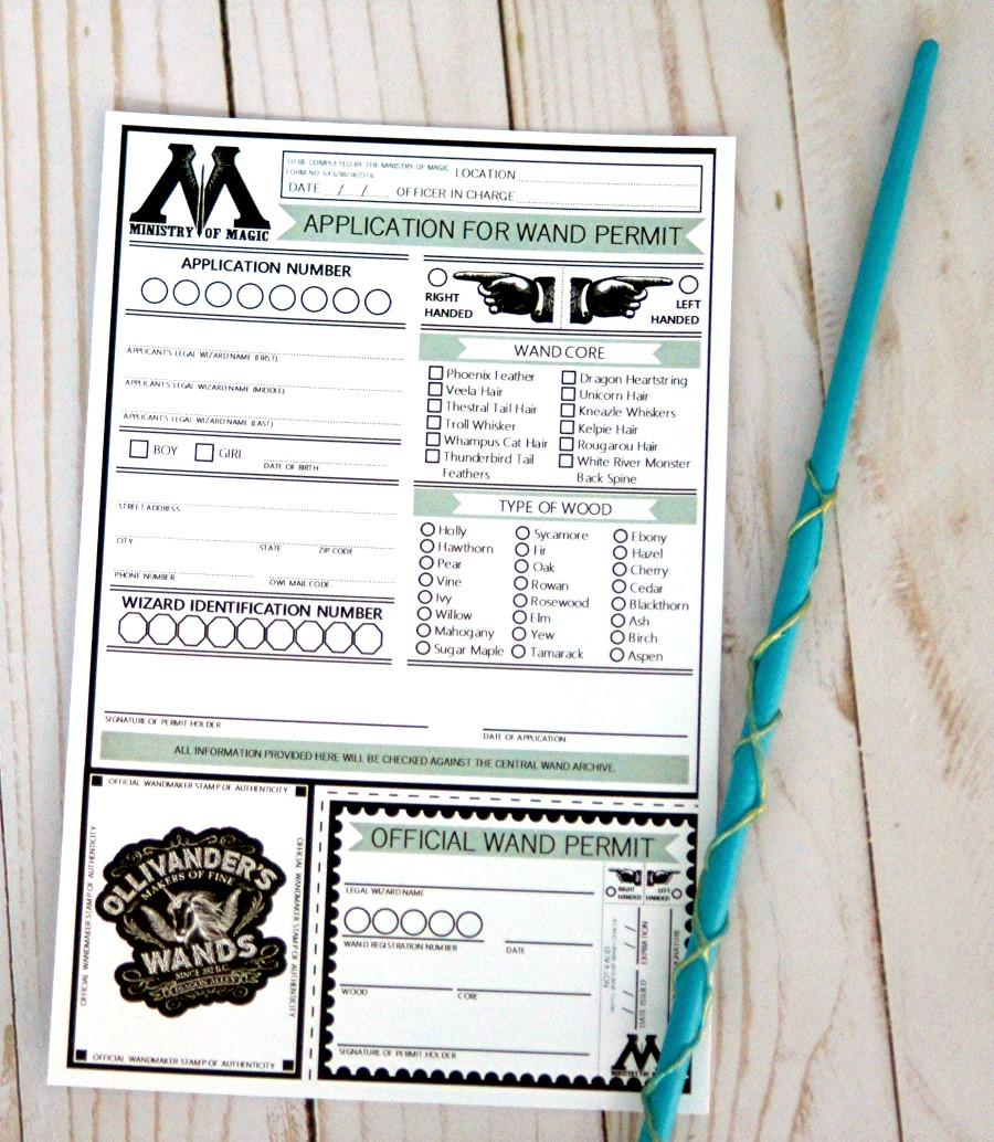 photograph regarding Harry Potter Spell List Printable called Harry Potter Wand Keep Free of charge PRINTABLE - The S Shoppe