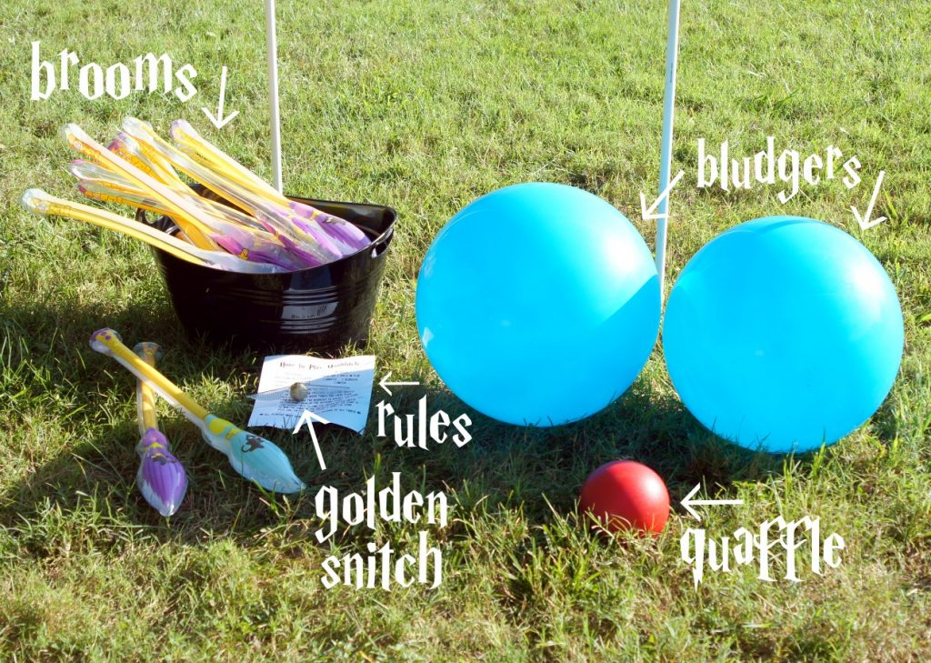 Bring the magic of Quidditch to your yard with these easy tips!