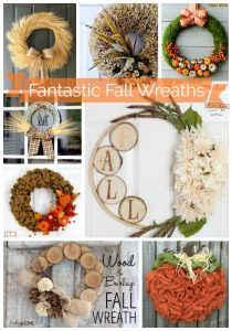Fantastic fall wreaths that you can create yourself to add a special touch to your front door!