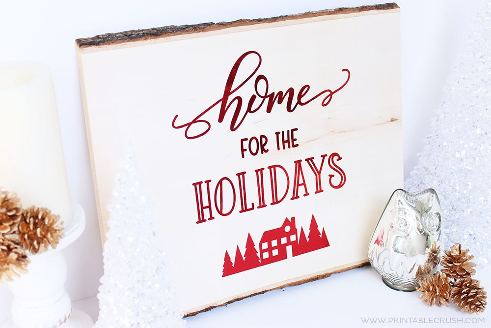 DIY your Christmas decor and make great gifts using these FREE SVG cut files!