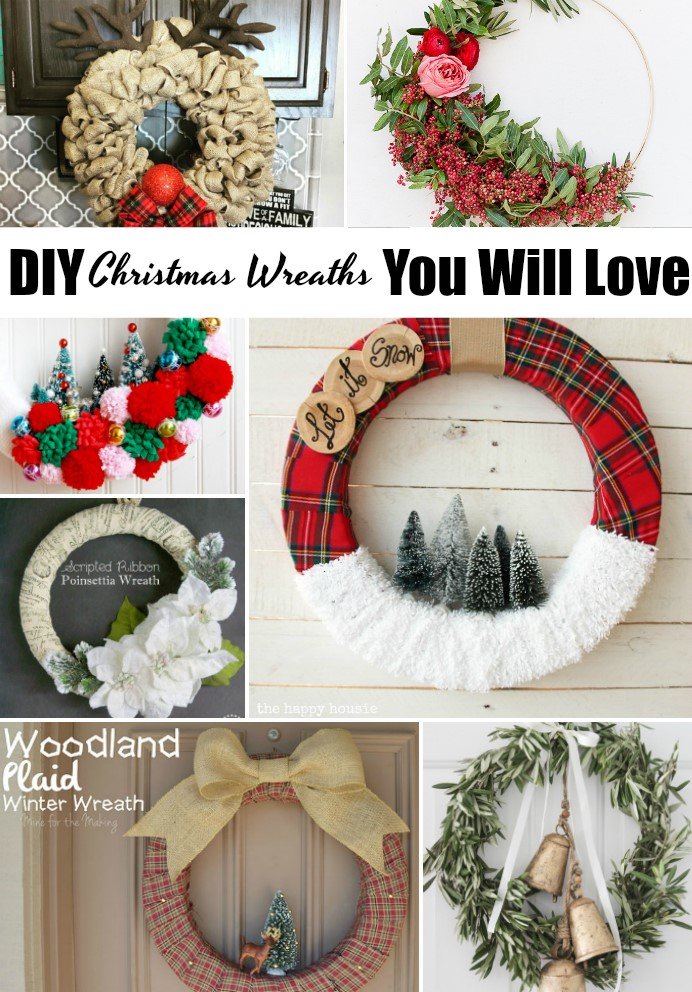 Get inspired by these DIY Christmas Wreaths!