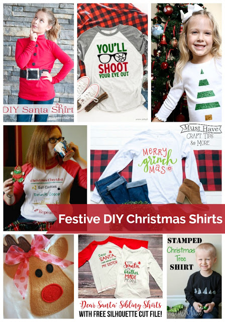 DIY Christmas shirt ideas you can make!