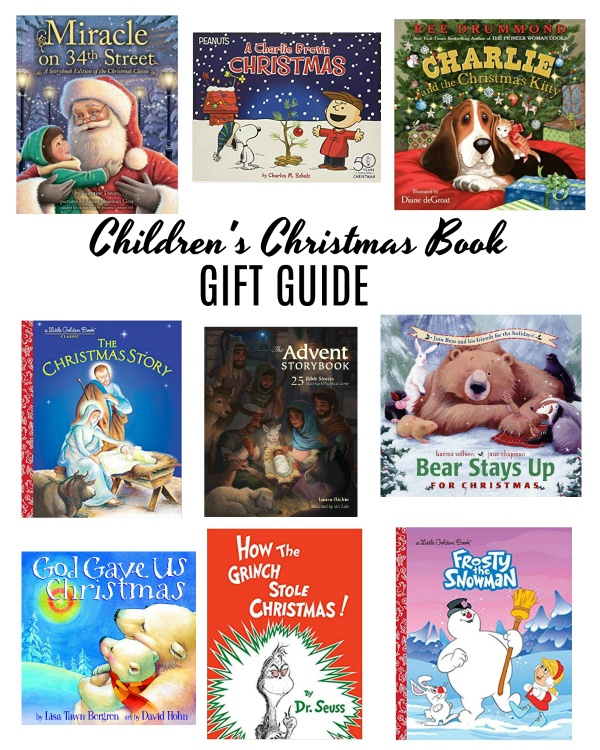 This Children's Book Gift Guide is a great present source.
