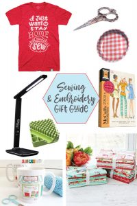 This gift guide is perfect for those who love to sew and embroider!
