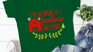 Farmhouse Christmas SVG File