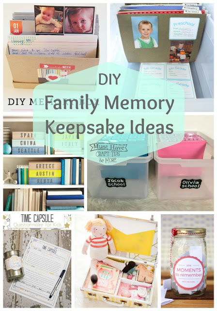 Create memory keepsakes for your little ones!