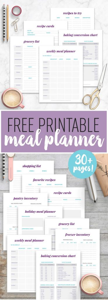FREE Kitchen Printables and Cheat Sheets Everyone Should Keep in Their Kitchen!