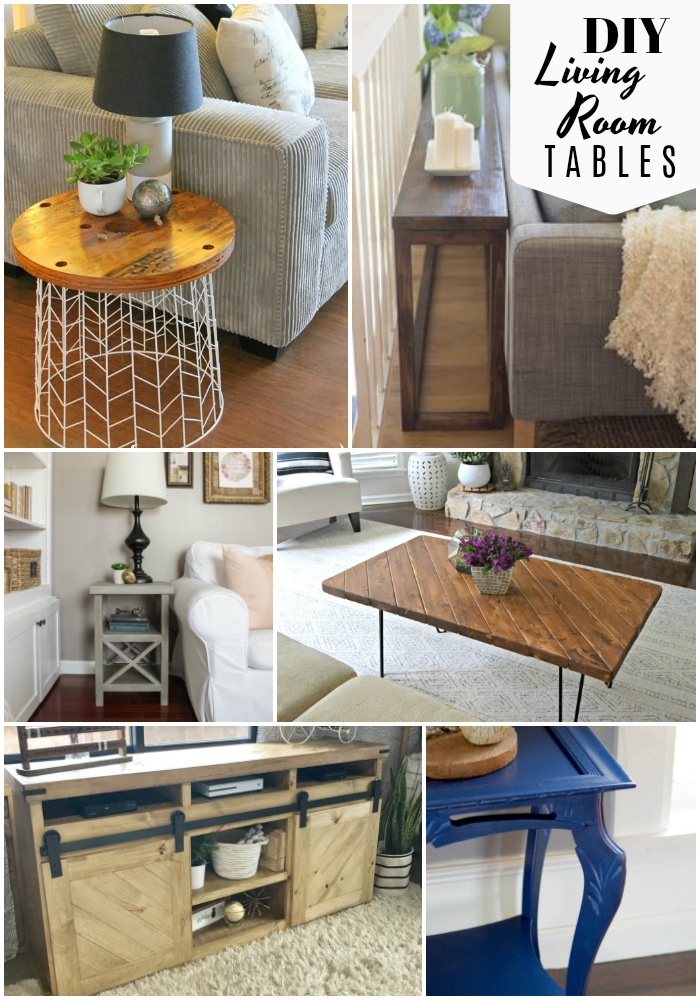 Diy Tables For The Living Room The Scrap Shoppe