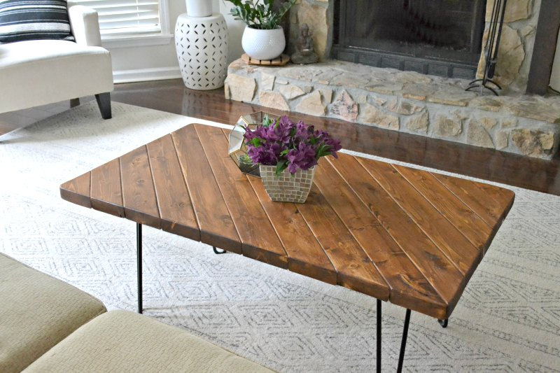 DIY Living Room Tables