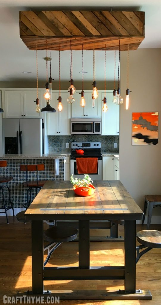 Can't find the perfect light fixture for your space? Don't be afraid to DIY it!