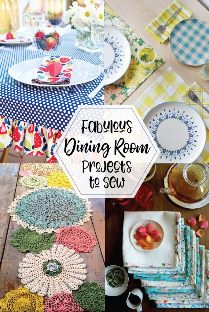 Fabulous sewing projects for the living room!