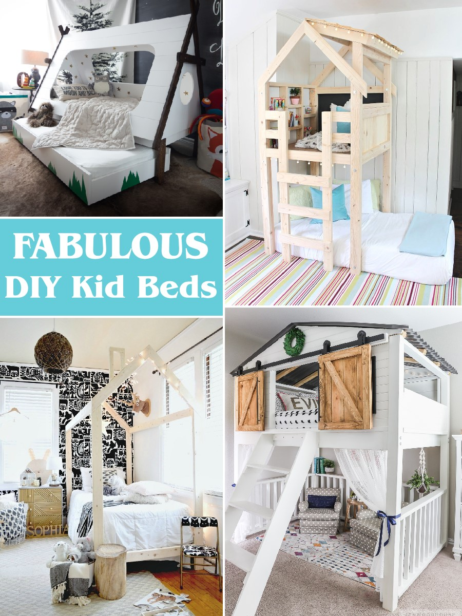 Fabulous Diy Kid Beds The Scrap Shoppe
