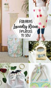 Laundry Room Sewing Projects
