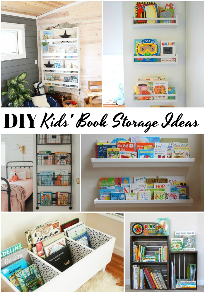 Diy Book Storage For Kids The S