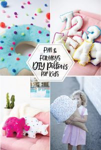 Fun and Fabulous DIY Pillows for Kids