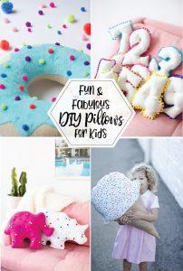 Fun and Fabulous DIY Pillows for Kids