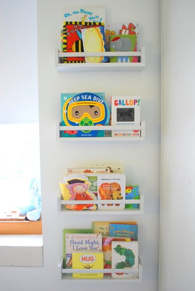 DIY Kids' Book Storage Ideas you'll love for your kids' bedrooms.