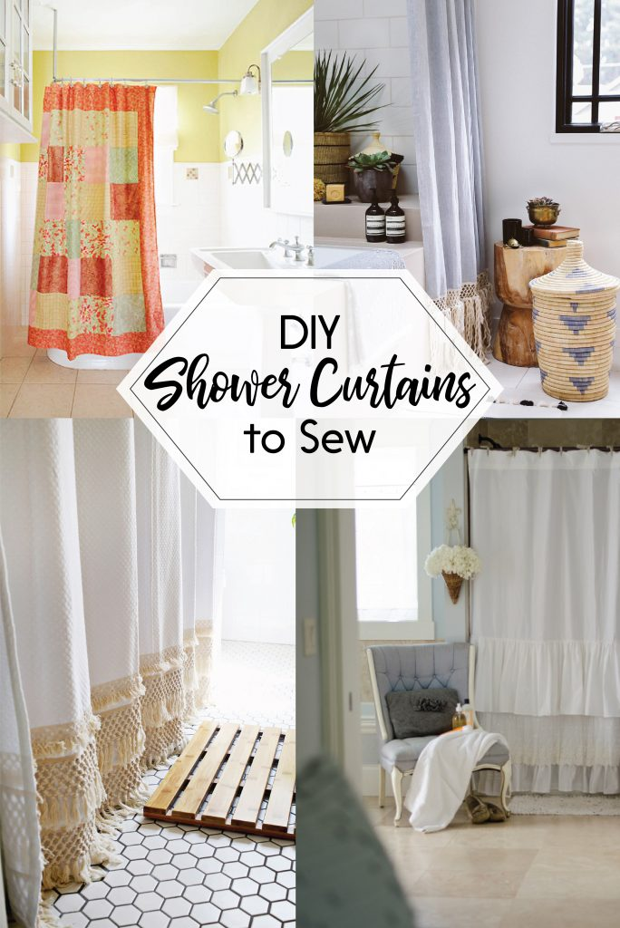 DIY Shower Curtain Ideas to Sew