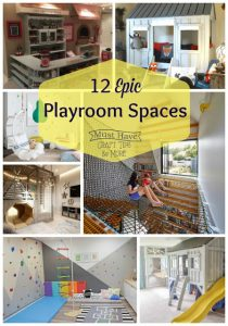 Amazingly Epic Playroom Spaces!