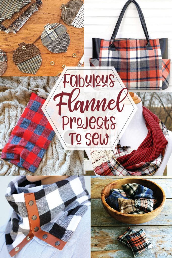 Get cozy this fall with these DIY flannel sewing projects!