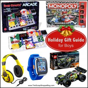 Find the best gifts for boys with this holiday gift guide!