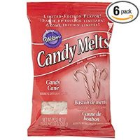 Limited Edition Wilton Candy Melts 10oz Bag (Candy Cane)