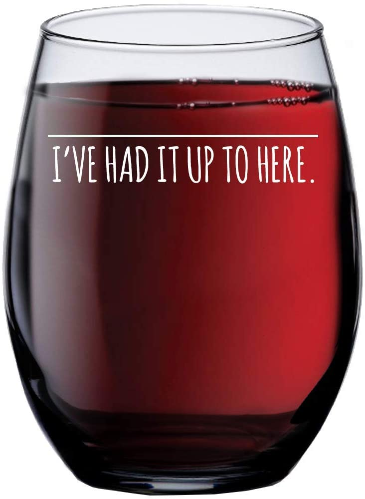 attitude wine glass