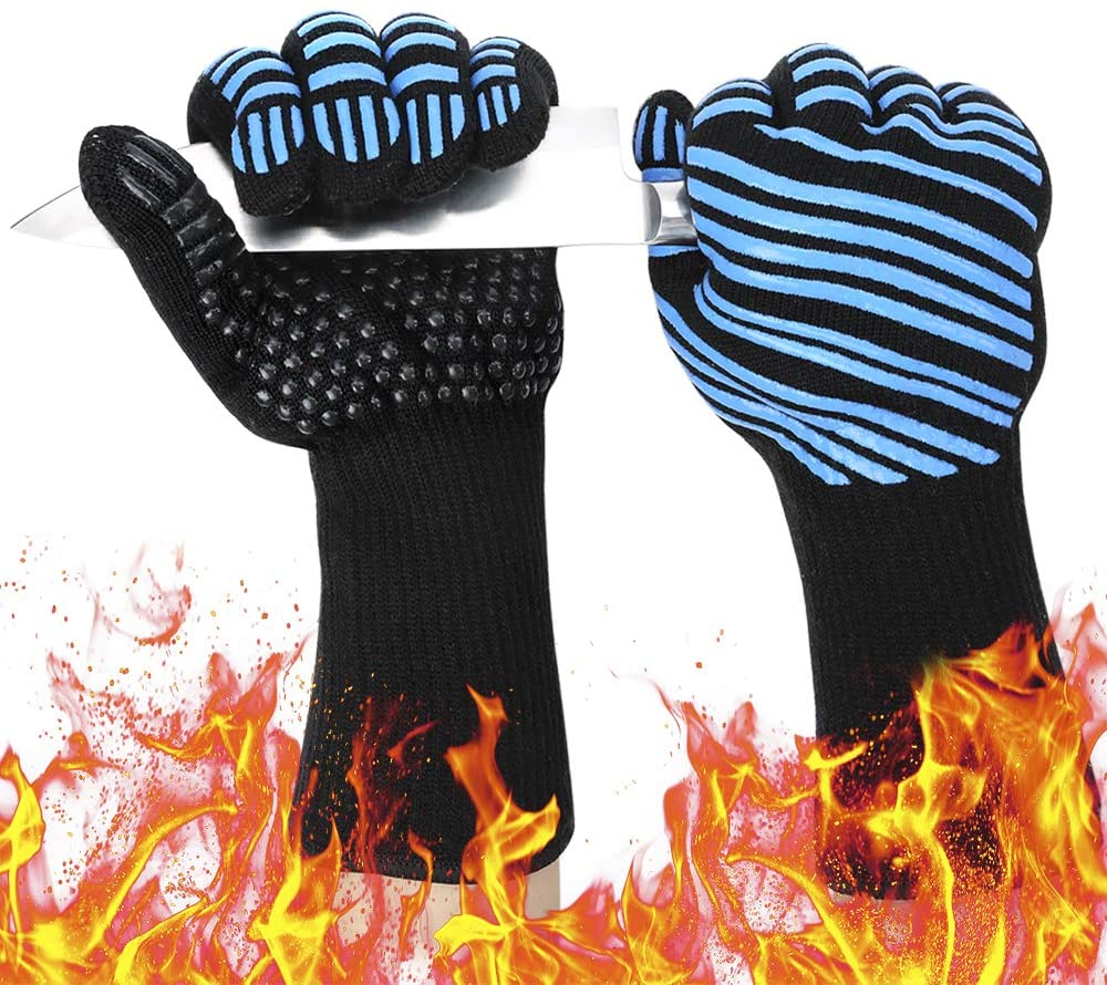heat proof grill gloves