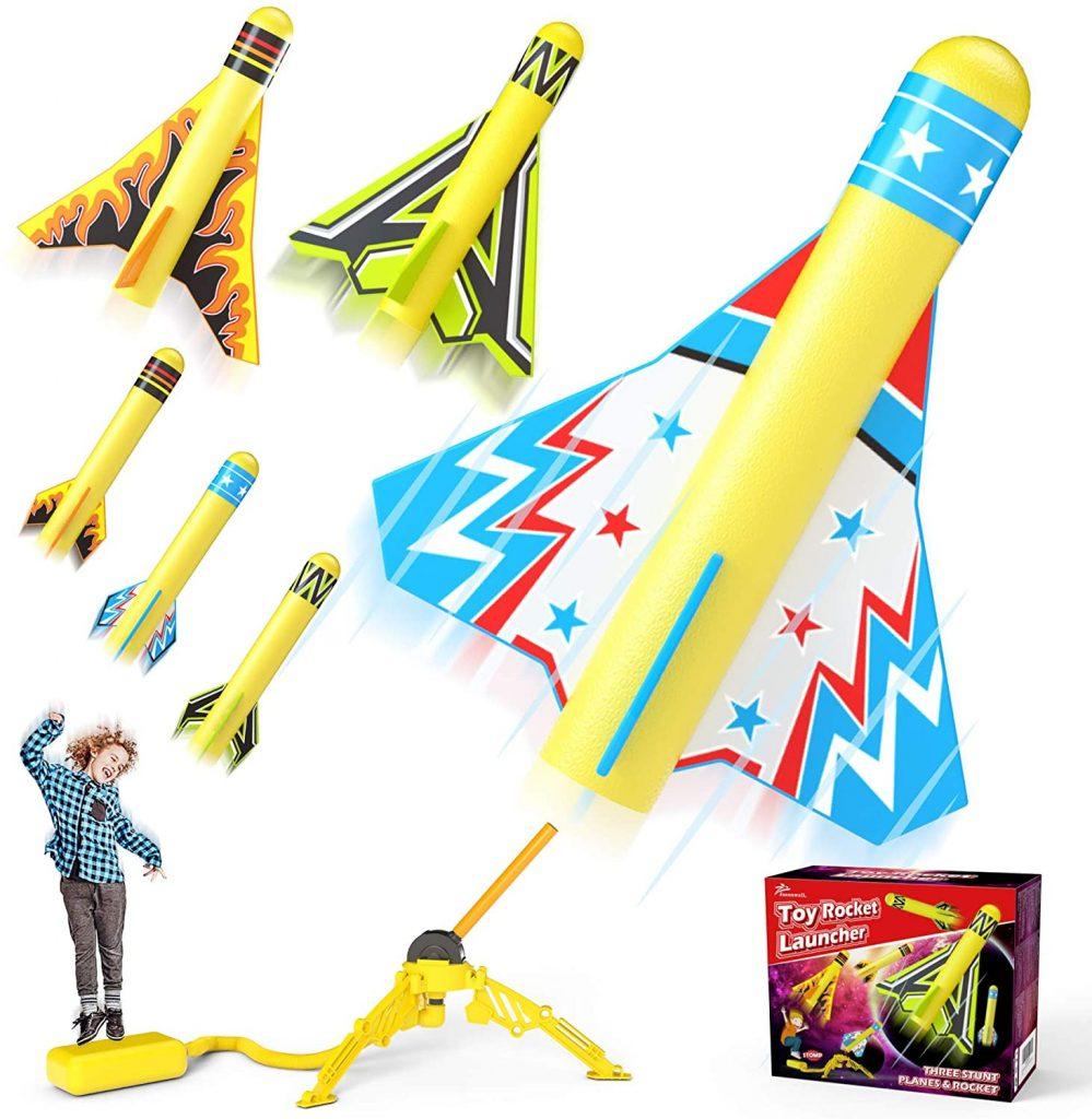 foam rockets