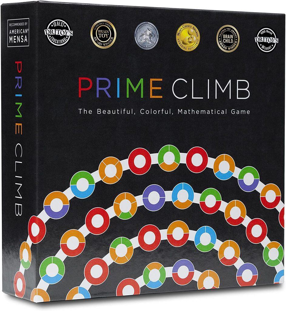 prime climb math game