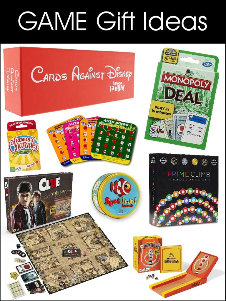 GAME Gift Ideas