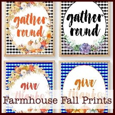 Farmhouse Fall Prints