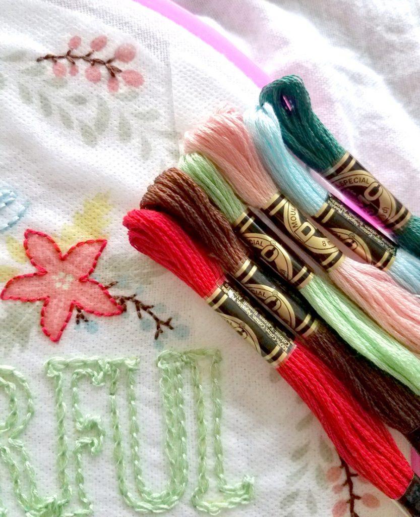 DMC Christmas Embroidery Threads