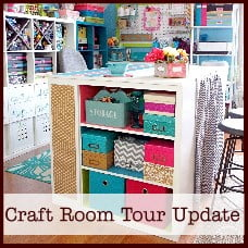 craft room tour update