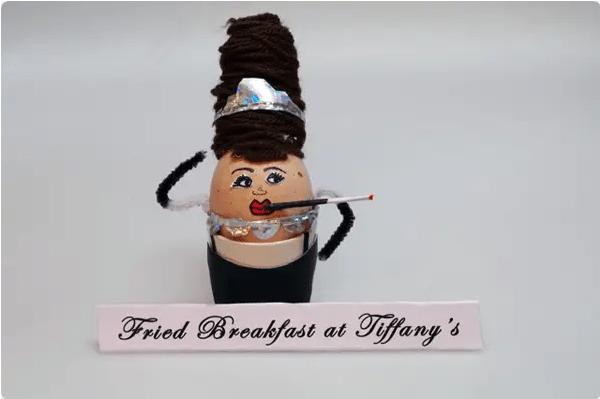Audrey Hepburn Easter Egg