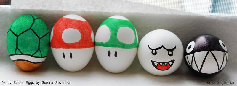 Mario Bros Easter Eggs