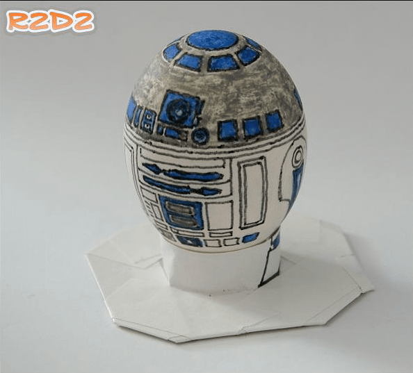 Star Wars R2D2 Easter Egg