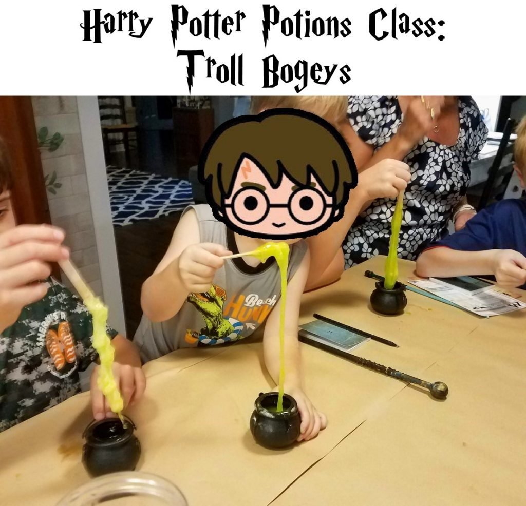 Harry Potter Potions Class How to Make Troll Bogeys