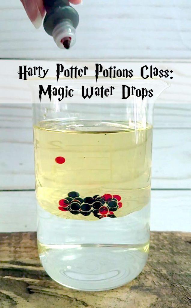 Magic Water Drops Potion Experiment