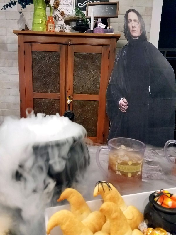 Epic Harry Potter Charcuterie Board - Severus Snape Potions Class Harry Potter Halloween Party